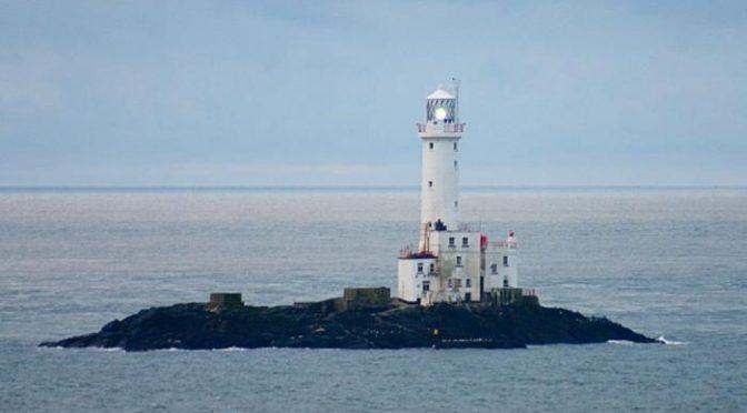 Tuskar Rock, off the coast of County Wexford, Ireland